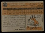1960 Topps #132   -  Frank Howard Rookie Star Back Thumbnail