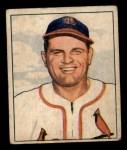 1950 Bowman #207   Max Lanier Front Thumbnail
