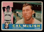 1960 Topps #110   Cal McLish Front Thumbnail