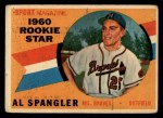 1960 Topps #143  Rookies  -  Al Spangler Front Thumbnail