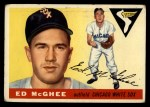 1955 Topps #32   Ed McGhee Front Thumbnail