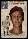 1954 Topps #69  Clarence 'Bud' Podbielan  Front Thumbnail