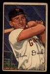 1952 Bowman #34  Al Dark  Front Thumbnail