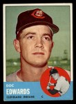 1963 Topps #296  Doc Edwards  Front Thumbnail