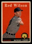 1958 Topps #213   Red Wilson Front Thumbnail