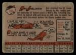 1958 Topps #362   Ray Jablonski Back Thumbnail