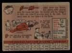 1958 Topps #121   Eddie Miksis Back Thumbnail