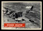 1965 Philadelphia War Bulletin #14   Wooden Weapon Front Thumbnail