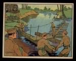 1941 Gum Inc. Uncle Sam Home Defense #53  Engineers Building Bridge  Front Thumbnail