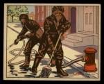 1941 Gum Inc. Uncle Sam Home Defense #115   Gas Decontamination Front Thumbnail