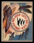 1941 Gum Inc. Uncle Sam Home Defense #120  Keep 'Em Flying  Front Thumbnail