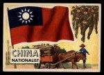1956 Topps Flags of the World #18  China  Front Thumbnail