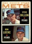 1964 Topps #556   Mets Rookie Stars  -  Steve Dilion / Ron Locke Front Thumbnail