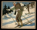 1941 Gum Inc. Uncle Sam Home Defense #52   Ski Troops And Patrols Front Thumbnail