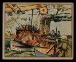 1938 Gum Inc. Horrors of War #9   U.S.S. Panay is Attacked by the Japanese Front Thumbnail