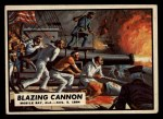 1962 Topps Civil War News #76  Blazing Cannon  Front Thumbnail