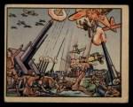 1938 Gum Inc. Horrors of War #35  Anti-aircraft Guns Blaze as Japs Bomb Power Plant  Front Thumbnail