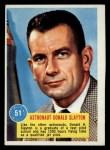 1963 Topps Astronaut Popsicle #51  Astronaut Donald Slayton  Front Thumbnail