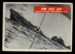1965 Philadelphia War Bulletin #34  One Less Jap  Front Thumbnail
