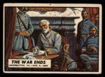 1962 Topps Civil War News #87   The War Ends Front Thumbnail