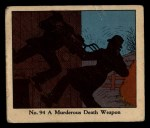 1931 Johnson Candy Dick Tracy #94  Murderous Death Weapon  Front Thumbnail