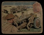 1941 Gum Inc. Uncle Sam Home Defense #8   Field Artillery Front Thumbnail
