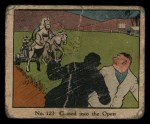 1931 Johnson Candy Dick Tracy #123   Chased Into the Open Front Thumbnail