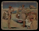 1941 Gum Inc. Uncle Sam Home Defense #12   How To Tell An Officer's Rank Front Thumbnail