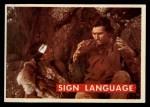 1956 Topps Davy Crockett #48 GRN  Sign Language  Front Thumbnail