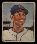 1950 Bowman #1   Mel Parnell Front Thumbnail