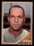 1962 Topps #492  Hal W. Smith  Front Thumbnail