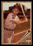 1962 Topps #73  Nellie Fox  Front Thumbnail