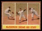 1962 Topps #319   -  Mike McCormick Shows His Stuff Front Thumbnail