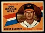 1960 Topps #126   -  Chuck Estrada Rookies Front Thumbnail