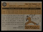 1960 Topps #134  Rookies  -  Deron Johnson Back Thumbnail