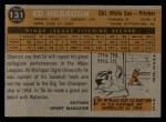 1960 Topps #131  Rookie Stars  -  Ed Hobaugh Back Thumbnail