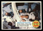 1969 Topps Man on the Moon #27 A Preparation For Flight  Front Thumbnail