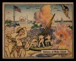 1941 Gum Inc. War Gum #10  Defense Of Wake Island  Front Thumbnail