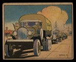 1941 Gum Inc. Uncle Sam Home Defense #62   Motor Convoy Drivers Front Thumbnail