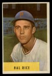 1954 Bowman #219   Hal Rice Front Thumbnail