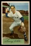 1954 Bowman #34   Sammy White Front Thumbnail