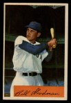 1954 Bowman #82 ALL Billy Goodman  Front Thumbnail