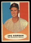 1961 Topps #224  Joe Gordon  Front Thumbnail