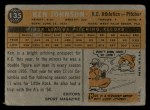 1960 Topps #135  Rookie Stars  -  Ken Johnson Back Thumbnail
