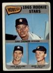 1965 Topps #553   Astros Rookie Stars  -  Jack McClure / Dan Coombs / Gene Ratliff Front Thumbnail