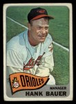 1965 Topps #323  Hank Bauer  Front Thumbnail