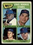 1965 Topps #533   -  Tug McGraw / Ron Swoboda / Jim Bethke / Dan Napoleon Mets Rookies Front Thumbnail
