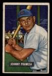 1951 Bowman #324   John Pramesa Front Thumbnail