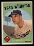 1959 Topps #53  Stan Williams  Front Thumbnail