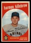 1959 Topps #515   Harmon Killebrew Front Thumbnail